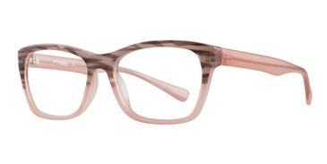 Pink Affordable Designs Alice Eyeglasses.