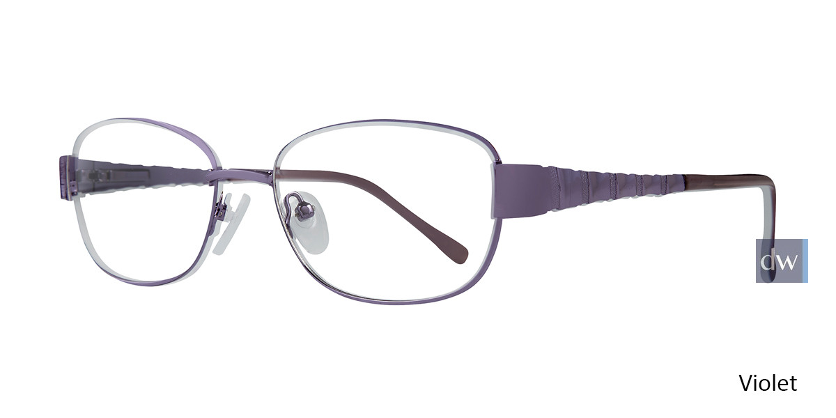 Violet Affordable Designs Babe Eyeglasses.