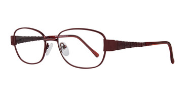 Bordeaux Affordable Designs Babe Eyeglasses.