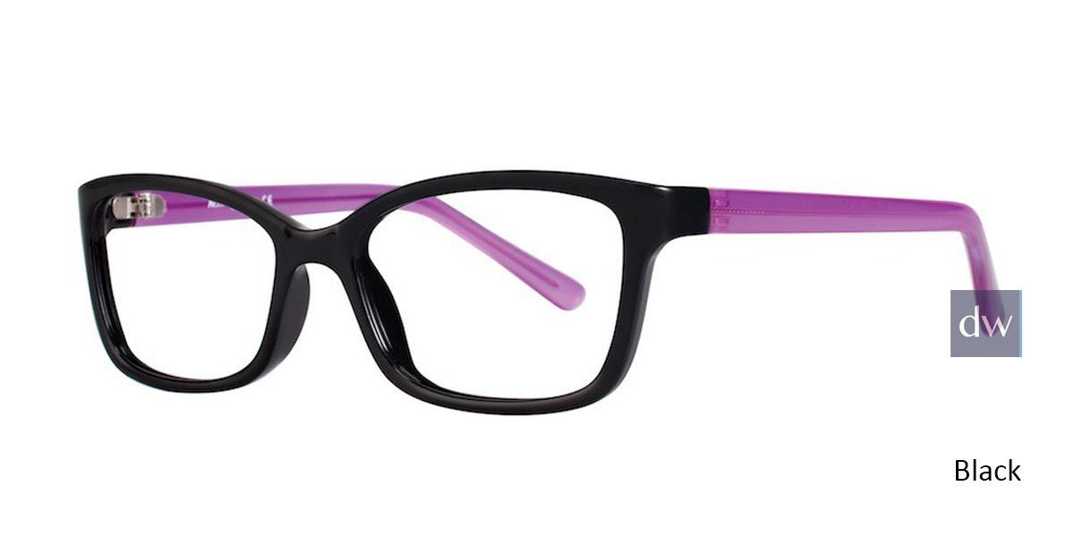 Black Plum Affordable Designs Bambi Eyeglasses.