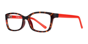 Tortoise/Red Affordable Designs Bambi Eyeglasses.