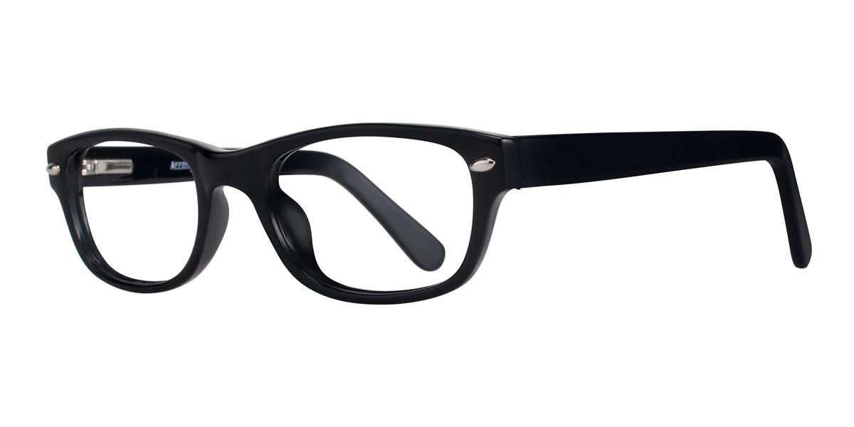 Black Affordable Designs Bronx Eyeglasses.