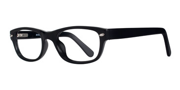 Black Affordable Designs Bronx Eyeglasses.