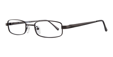 Matte Black Affordable Designs Bruce Eyeglasses
