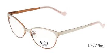 Silver/ Pink Gios Italia LP100029 Eyeglasses