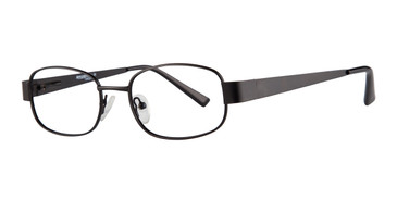 Matte Black Affordable Designs Casey Eyeglasses.