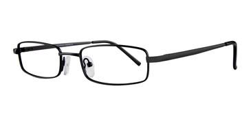 Black Affordable Designs Curtis Eyeglasses.