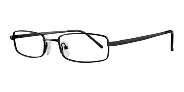 Black Affordable Designs Curtis Eyeglasses.