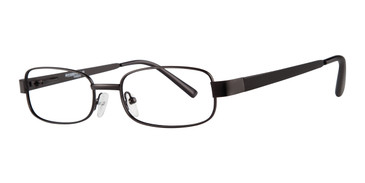 Matte Black Affordable Designs Dakota Eyeglasses.