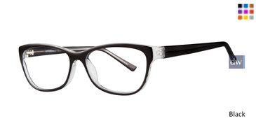 Black Affordable Designs Dawn Eyeglasses.