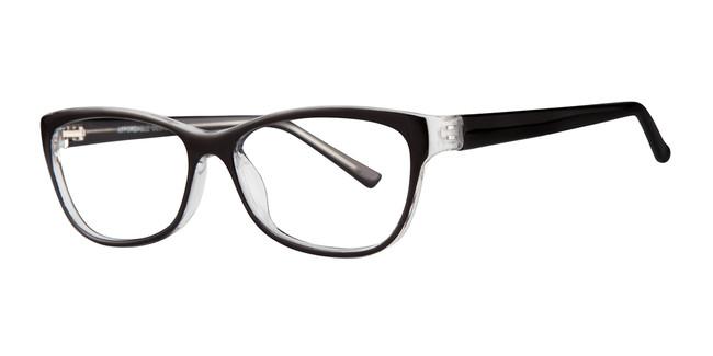 Black Affordable Designs Dawn Eyeglasses.