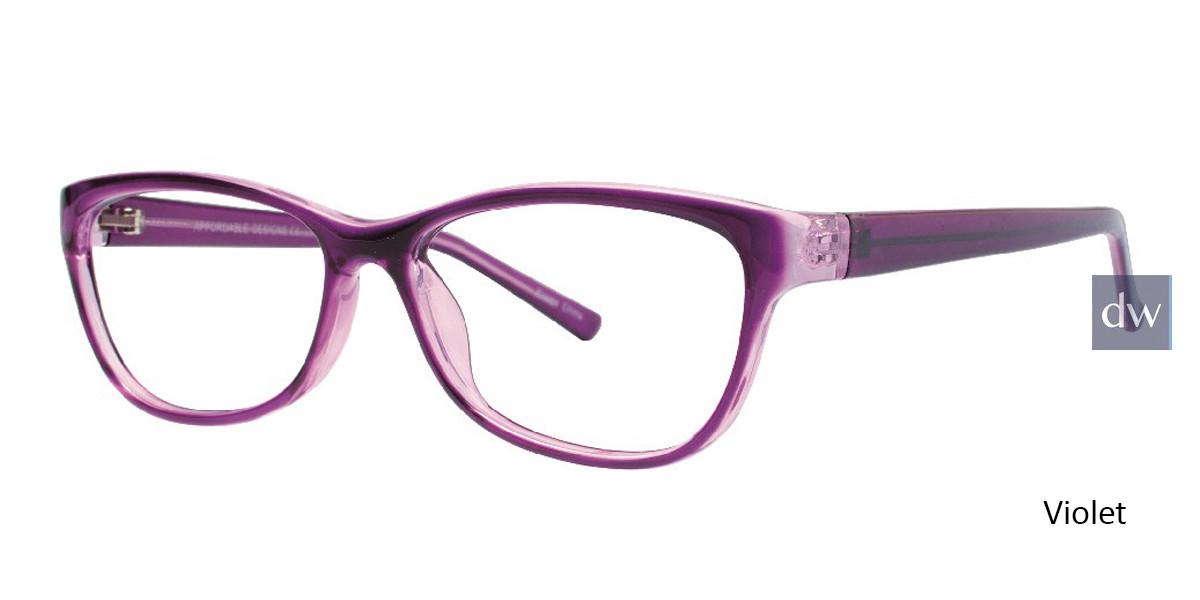 Violet Affordable Designs Dawn Eyeglasses.