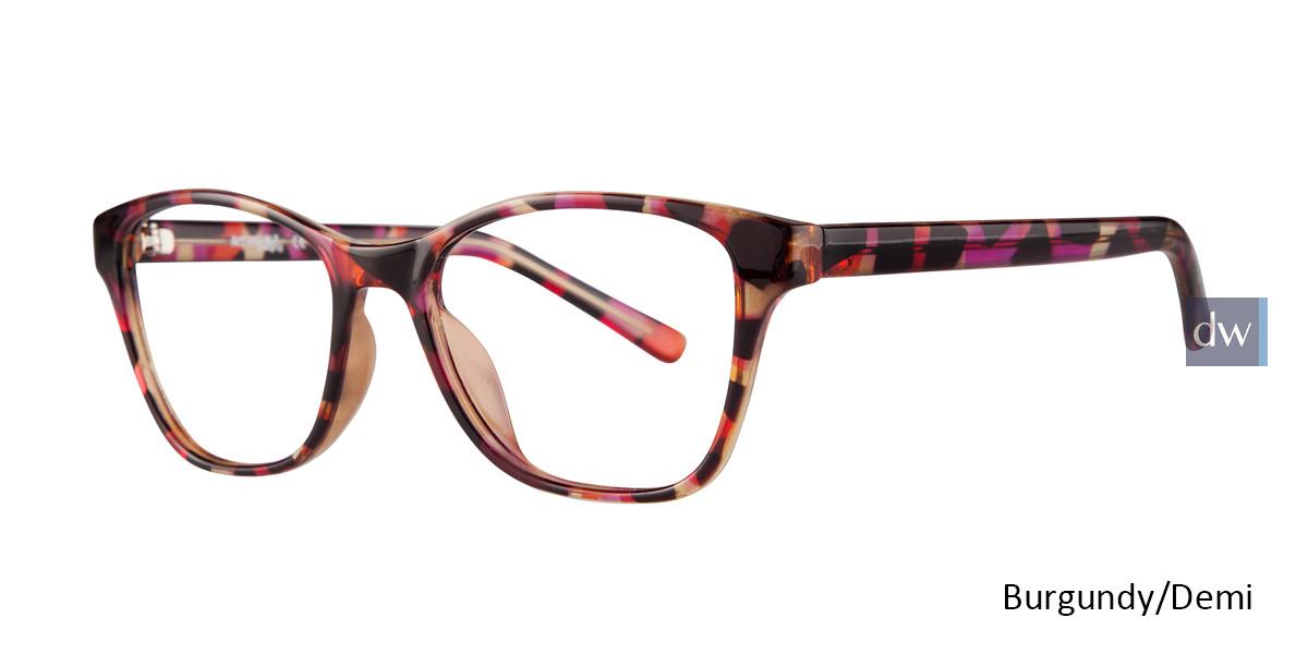 Burgundy Demi Affordable Designs Diva Eyeglasses.