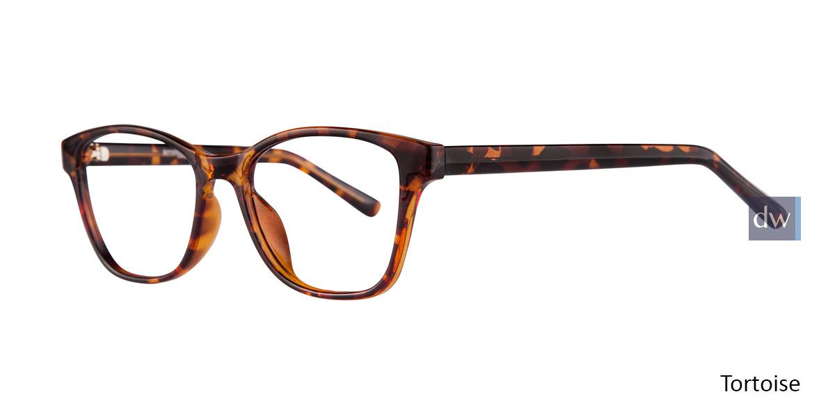 Tortoise Affordable Designs Diva Eyeglasses.