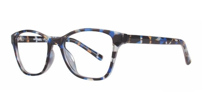 Blue Demi Affordable Designs Diva Eyeglasses.
