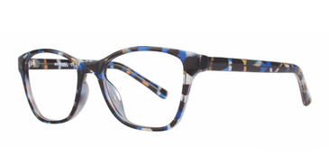 Blue Demi Affordable Designs Diva Eyeglasses.