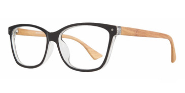 Black Affordable Designs Ellen Eyeglasses.