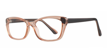 Peach Affordable Designs Erica Eyeglasses.