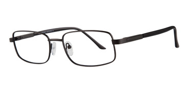 Black Affordable Designs Executive Eyeglasses