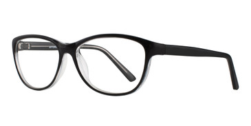 Black Affordable Designs Felicia Eyeglasses.