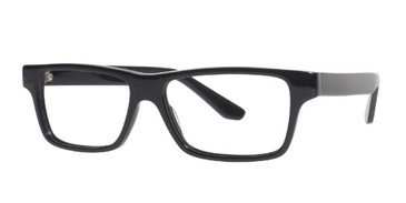Black Affordable Designs Fred Eyeglasses.