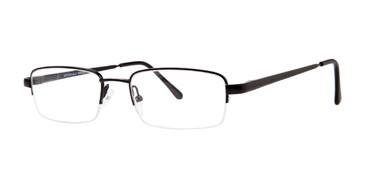 Black Affordable Designs Gino Eyeglasses.