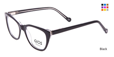 Black Gios Italia GRF500076 Eyeglasses