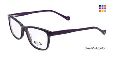 Blue/Multi color Gios Italia GRF500068 Eyeglasses