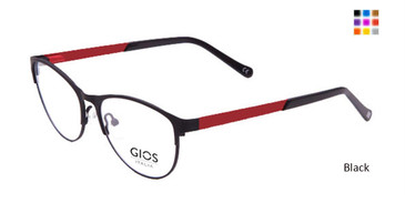 Black Gios Italia GLP100046 Eyeglasses