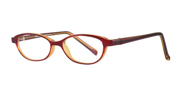 Red Affordable Designs Grace Eyeglasses.