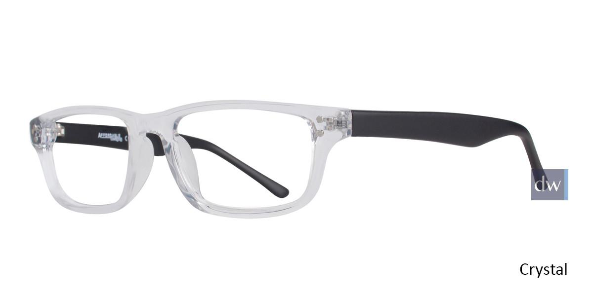 Crystal Affordable Designs Guppy Eyeglasses.