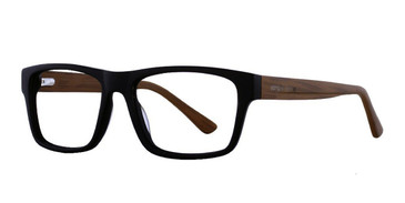 Black Affordable Designs Jack Eyeglasses.