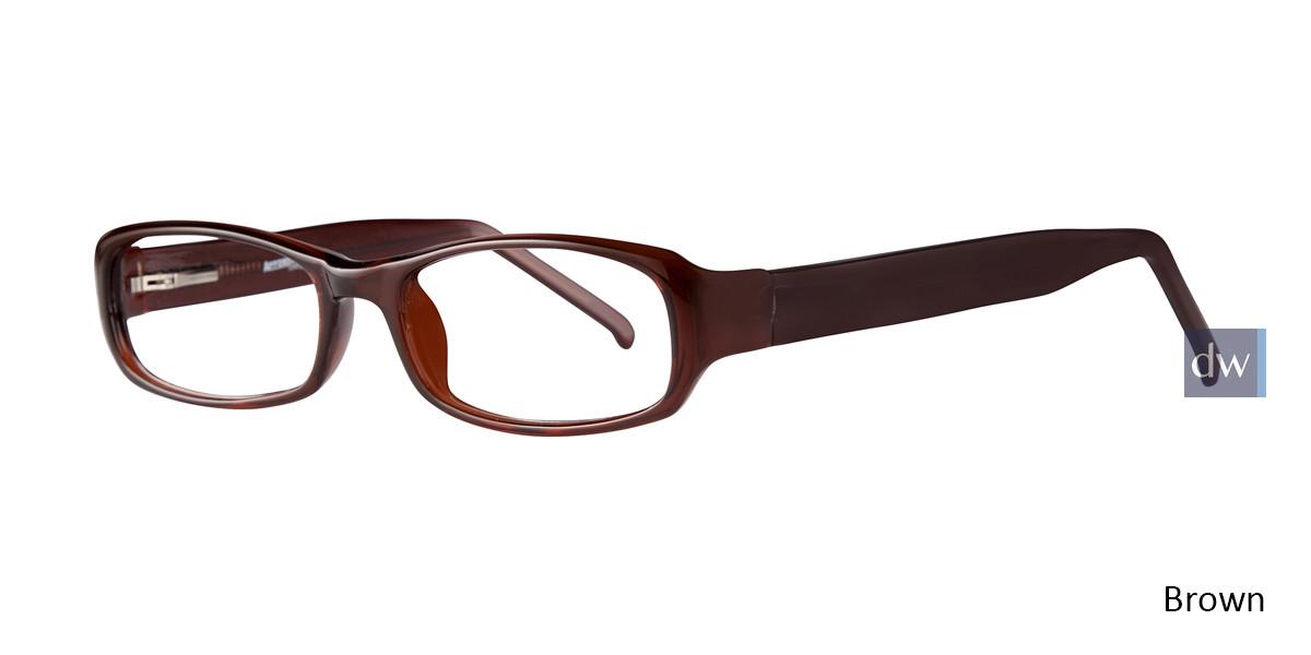 Brown Affordable Designs Joe Eyeglasses.