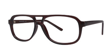 Brown Affordable Designs Justin Eyeglasses.