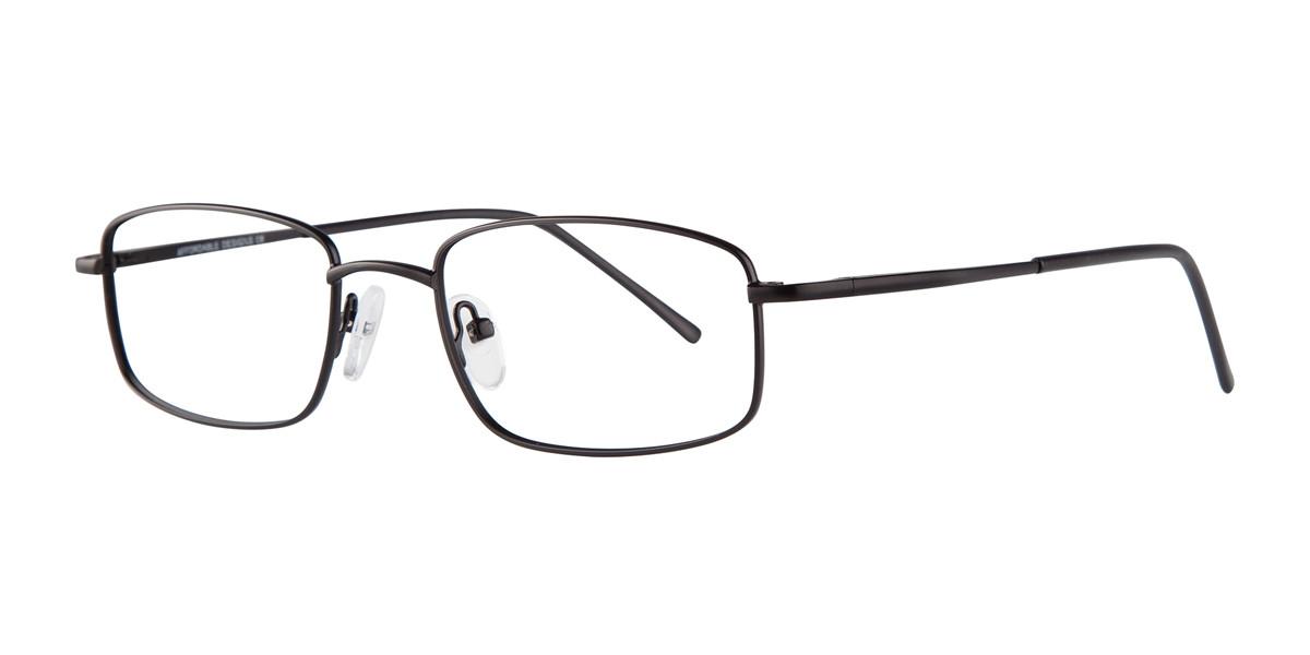 Black Affordable Designs Kingston Eyeglasses.