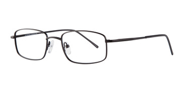 Black Affordable Designs Kingston Eyeglasses.