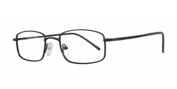 Black Affordable Designs Kingston Jr Eyeglasses.