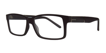 Matte Black Affordable Designs Liam Eyeglasses.
