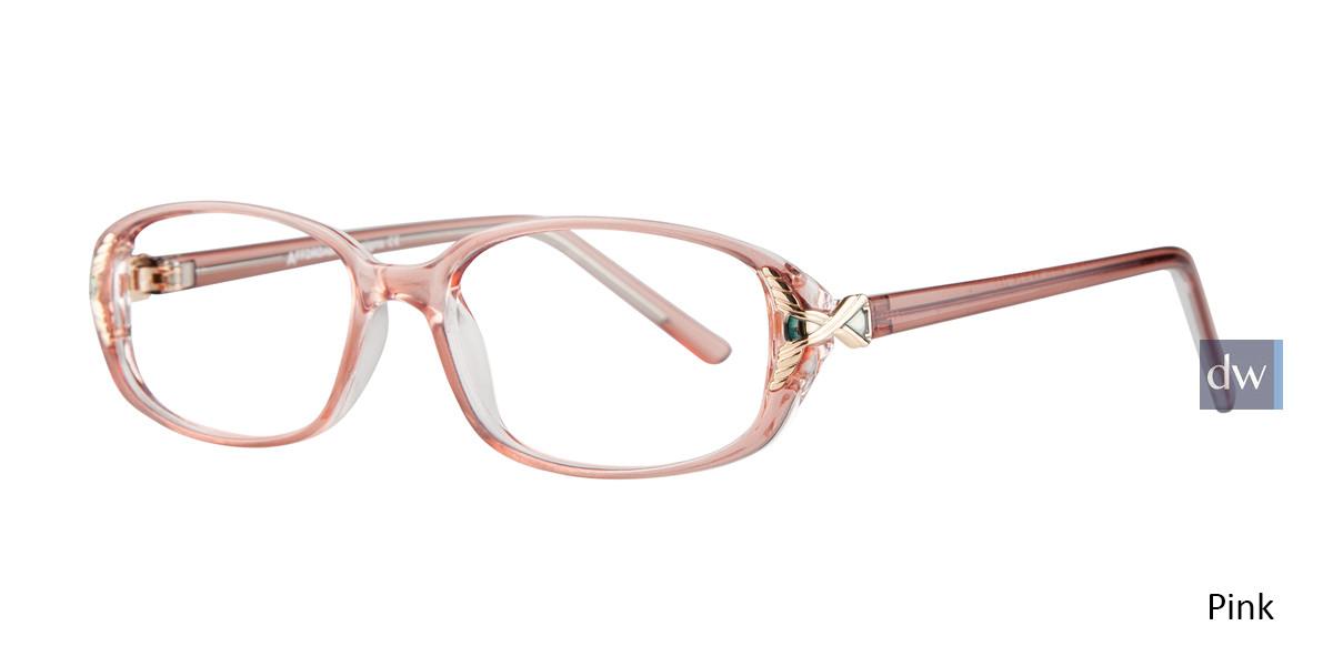 Pink Affordable Designs Lisa Eyeglasses.