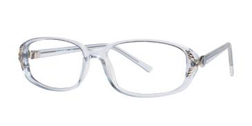 Blue Affordable Designs Lisa Eyeglasses.