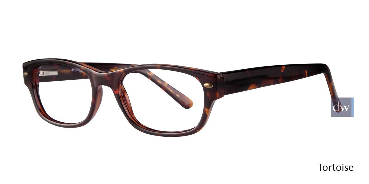 Tortoise Affordable Designs Lloyd Eyeglasses.