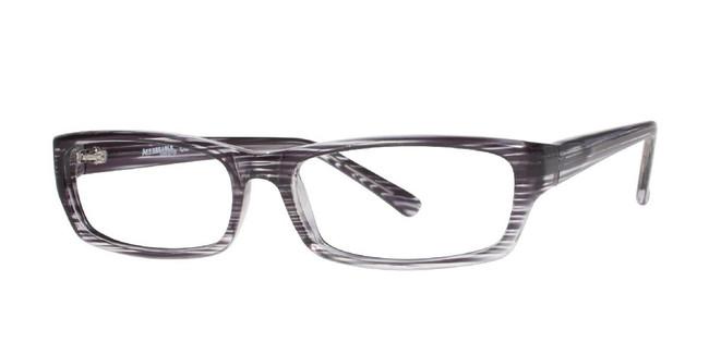 Grey Affordable Designs Matthew Eyeglasses.