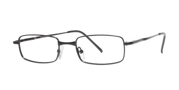 Black Affordable Designs Micky Eyeglasses.