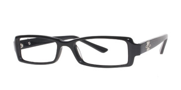 Black Affordable Designs Monica Eyeglasses.