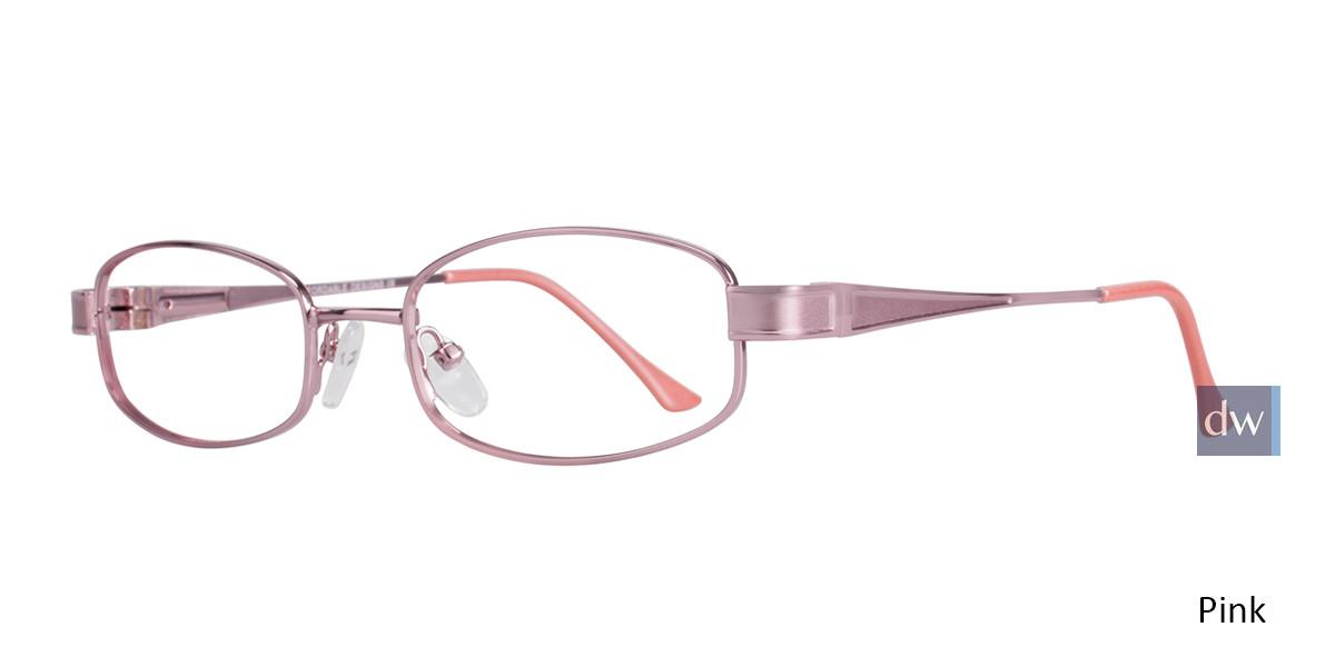 Pink Affordable Designs Nancy Eyeglasses.