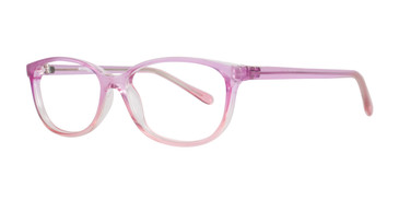 Pink Affordable Designs Nella Eyeglasses.