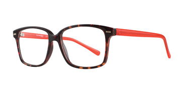 Tortoise Affordable Designs Nora Eyeglasses.