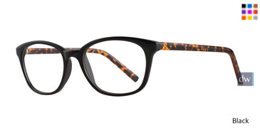 Black Affordable Designs Olivia Eyeglasses.