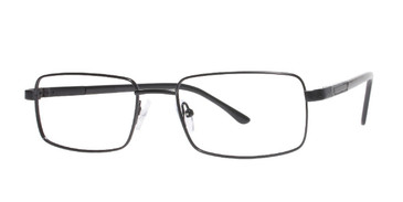 Black Affordable Designs Reggie Eyeglasses.