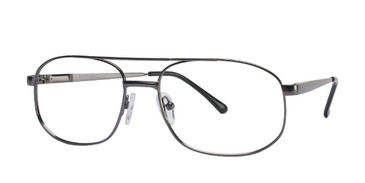Gunmetal Affordable Designs Robert Eyeglasses.